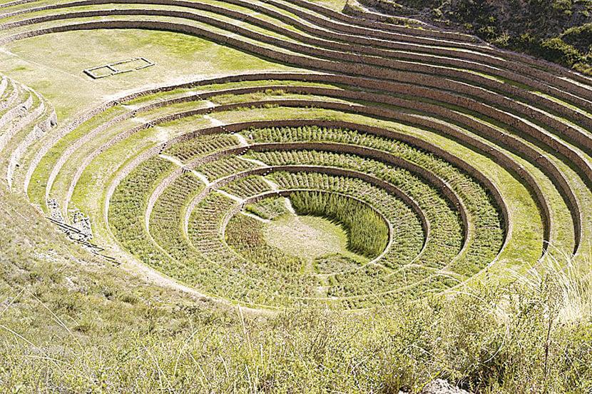 圓形梯田窪地(Moray)。(Justin Wheeler/CC/Pixabay)