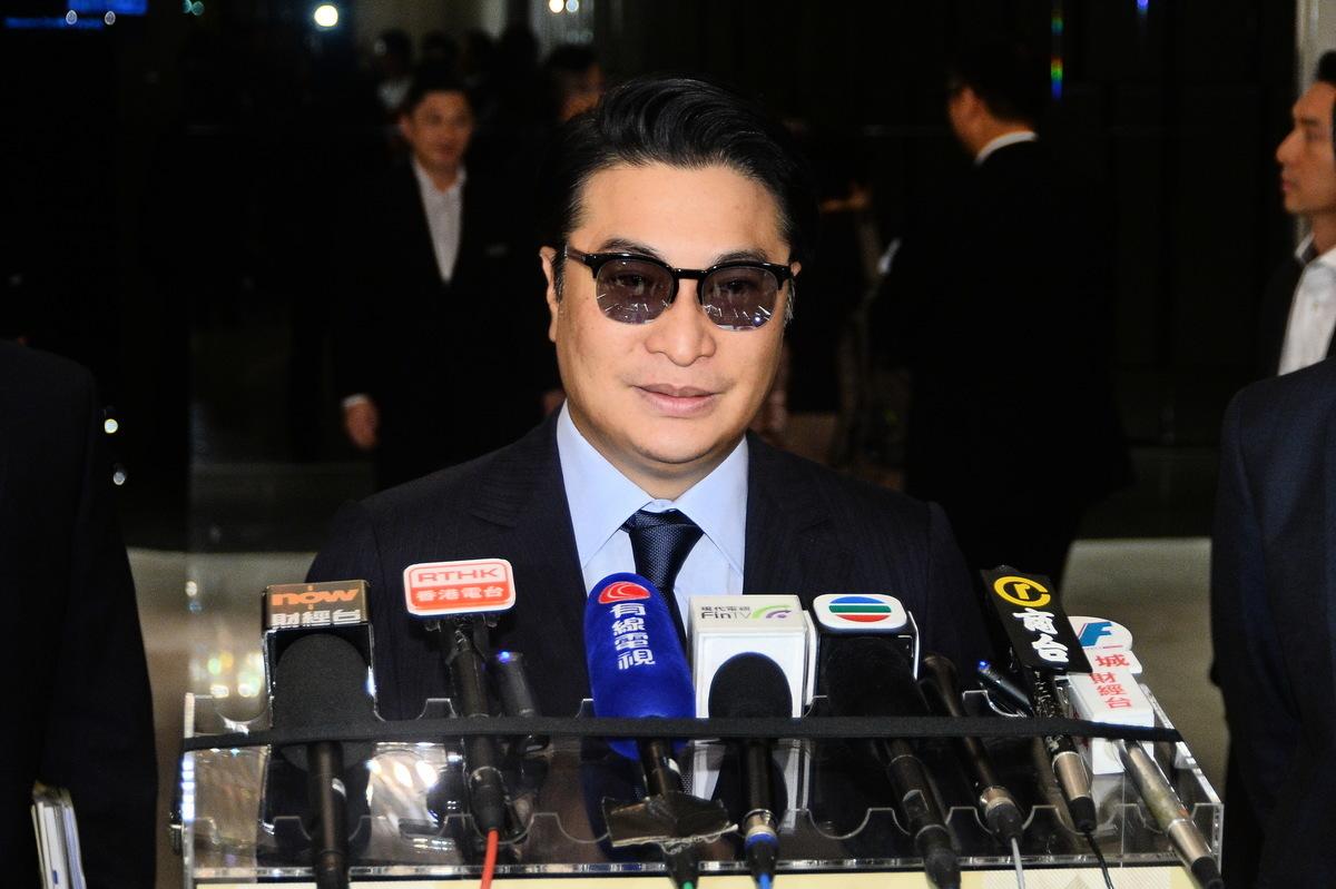 美麗華主席兼行政總裁李家誠對酒店業務前景保持樂觀。(宋碧龍/大紀元)