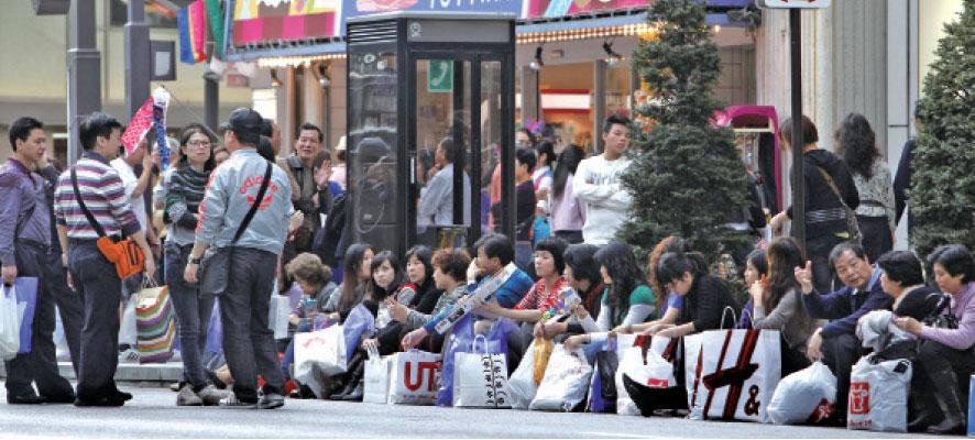 日本食品中國市場人氣高企