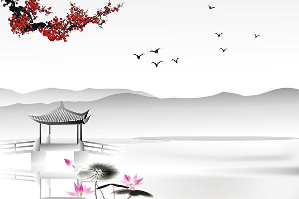 【華夏詩醇】「鳥去鳥來山色裡,人歌人哭水聲中」!