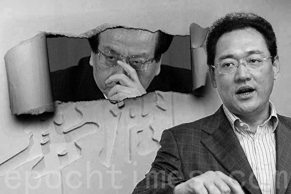 被央媒記者兩次舉報不倒的宋林,背靠的「老領導」曾慶紅,在坊間早就不是甚麼秘密,而且有關兩人互動的內幕報道很多。(大紀元合成圖)