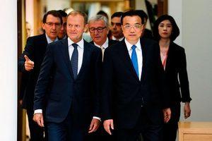 中歐峰會未解決貿易分歧 「統一戰線」破局