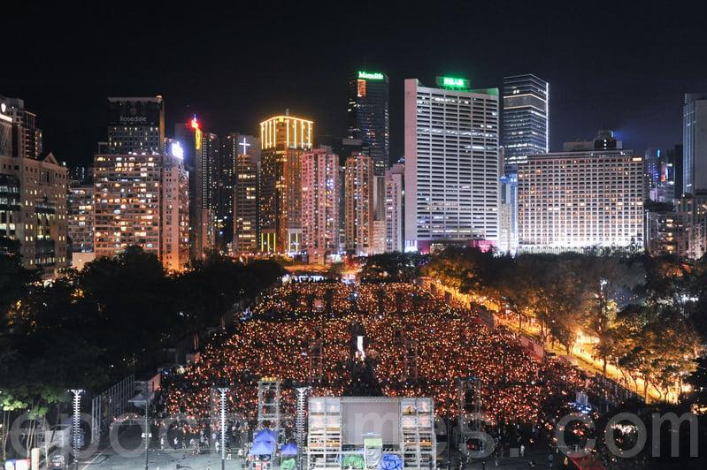 今年的香港維園悼念活動,已走到了第28個年頭,新唐人電視台將直播現場實況,敬請收看!(孫青天/大紀元)