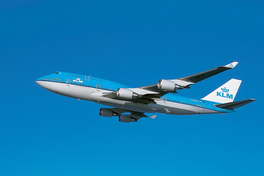 圖為與肇事客機同型號的荷蘭皇家航空波音747客機。(KLM)