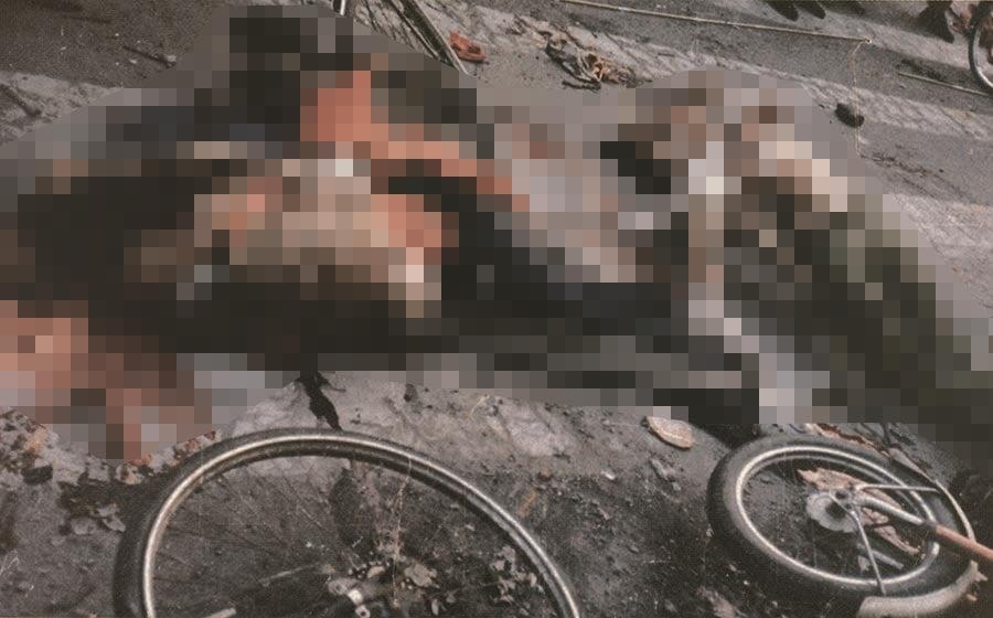 六四屠城目擊者:「大約在午夜,我們把車停在路邊,走到距離路障約100米處,士兵正在胡亂開槍。死屍和傷員橫在街上⋯⋯」(資料圖片)