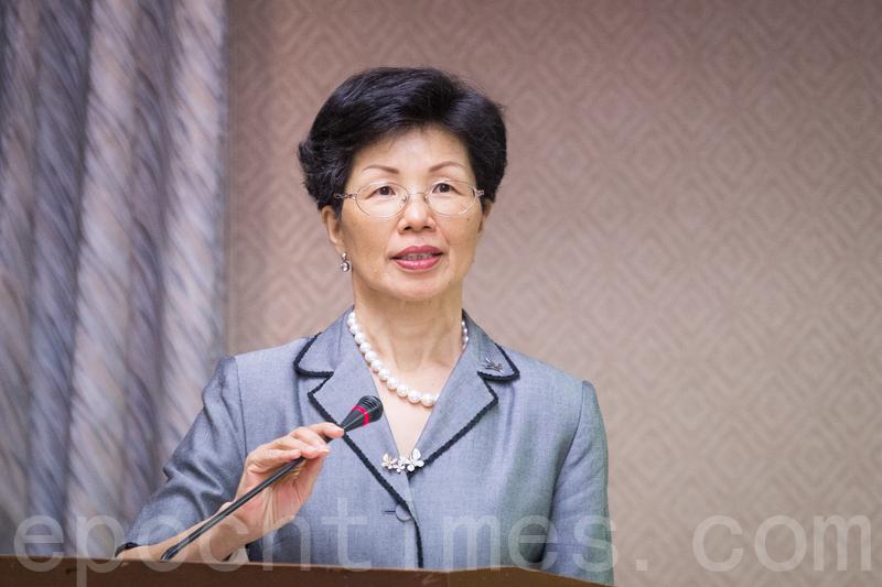 中華民國陸委會主委張小月6月3日表示,在六四前夕,民進黨前黨工李明哲仍被關押在中國大陸,她呼籲陸方應盡速回應政府的要求。(大紀元資料庫)
