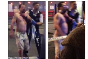 倫敦恐襲:亞裔記者被砍傷 血流如注