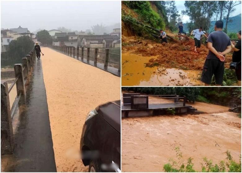 廣東遭受暴雨襲擊,局部地區災情嚴重。(網絡圖片)