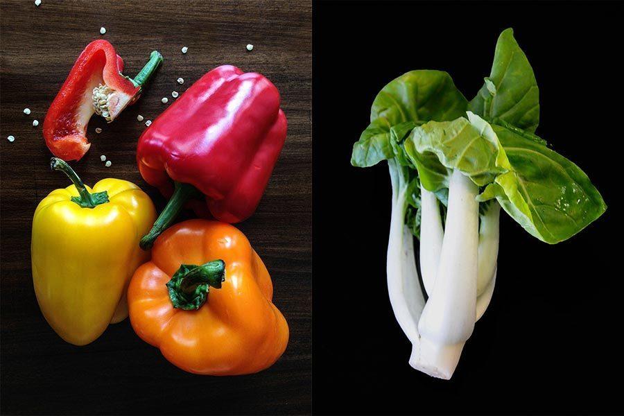 食安中心驗出燈籠椒和白菜樣本除害劑超標