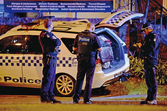 6月5日下午,澳洲墨爾本發生人質劫持案,劫匪被警方擊斃。恐怖組織「伊斯蘭國」承認責任。(Getty Images)
