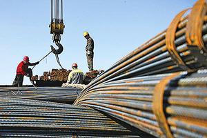 六月份中國鋼市下行壓力大增