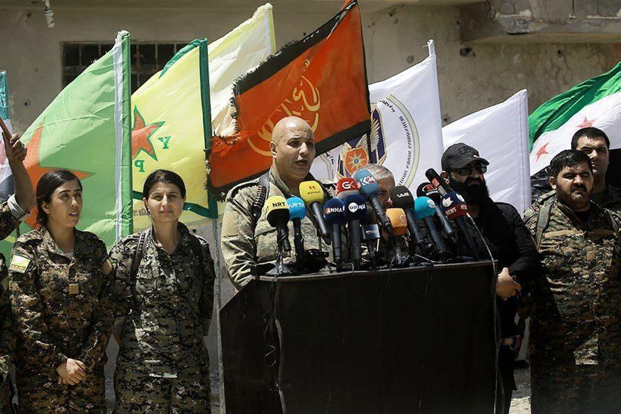 直搗IS心臟 敘反抗軍奪取拉卡戰役開打