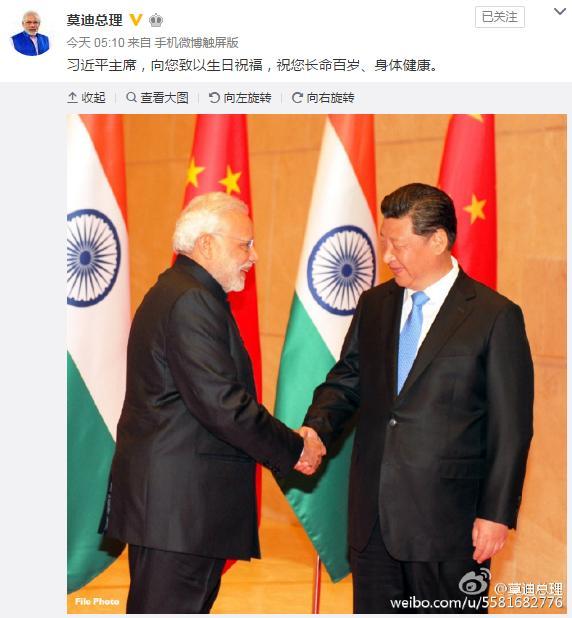 習近平這周將與印度總理莫迪會面的前夕,中共一架直昇機突然飛過中印「邊界」,引發印方不滿。(網絡擷圖)