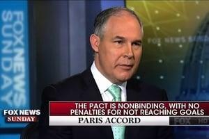 美環保局長:《巴黎協議》華而不實