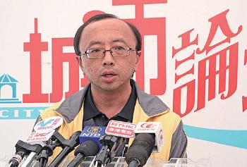 港大法律學院首席講師張達明代表法輪功學員詩曙明向高院提出上訴,助詩獲勝訴。(大紀元資料圖片)
