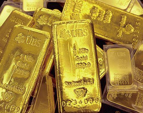 金價逼近1,300美元/安士,今年漲幅接近13%。(Getty Image)