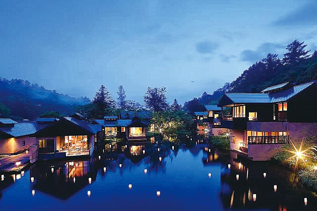 日本最富盛名的避暑勝地——輕井澤。(網絡圖片)