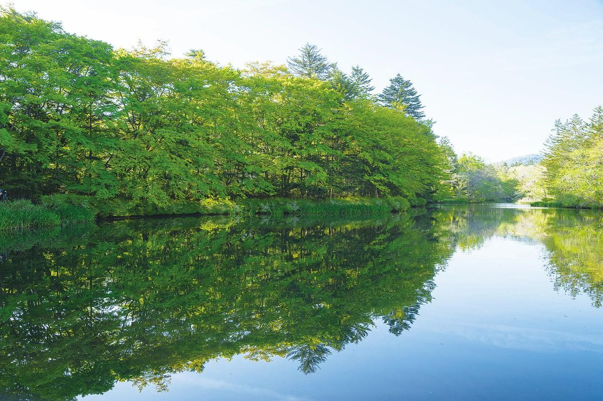 日本最富盛名的避暑勝地輕井澤,在這裏讓你完全被美麗的自然風光所包圍,如同置身世外桃源。(遊沛然/大紀元)