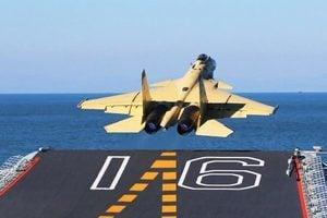 中國殲15艦載機再曝墜機 飛行員重傷住院