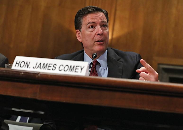 美國前聯邦調查局局長科米(James Comey)。(Getty Images)
