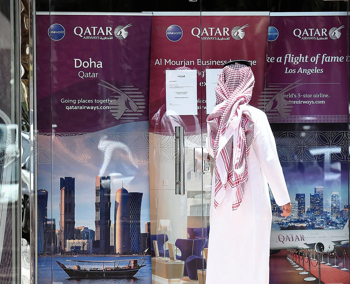 一場來勢洶洶的「斷交」潮威脅卡塔爾小國「崛起」的夢想。(AFP)