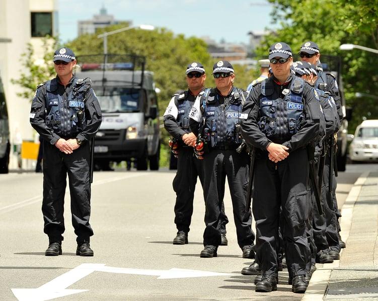 澳洲新省警察今後在應對恐怖份子襲擊時,將被授予明確的「射殺權」。(Stefan Gosatti/Getty Images)