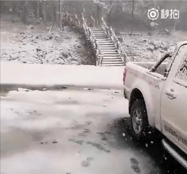 京津冀連遭高溫 黑龍江局地六月飄雪