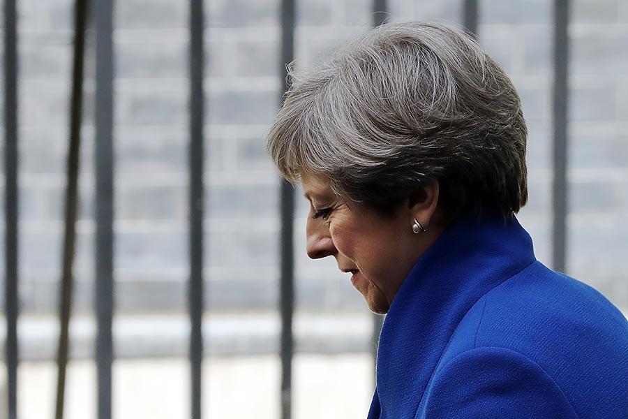 英國6月8日大選結果出乎意外,掀起政壇風浪。首相文翠珊被迫和其它黨聯合,組成新政府。(Dan Kitwood/Getty Images)