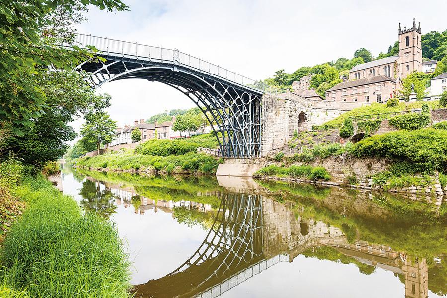 英國遊記 賽文河畔鐵橋鎮 英國的世外桃源