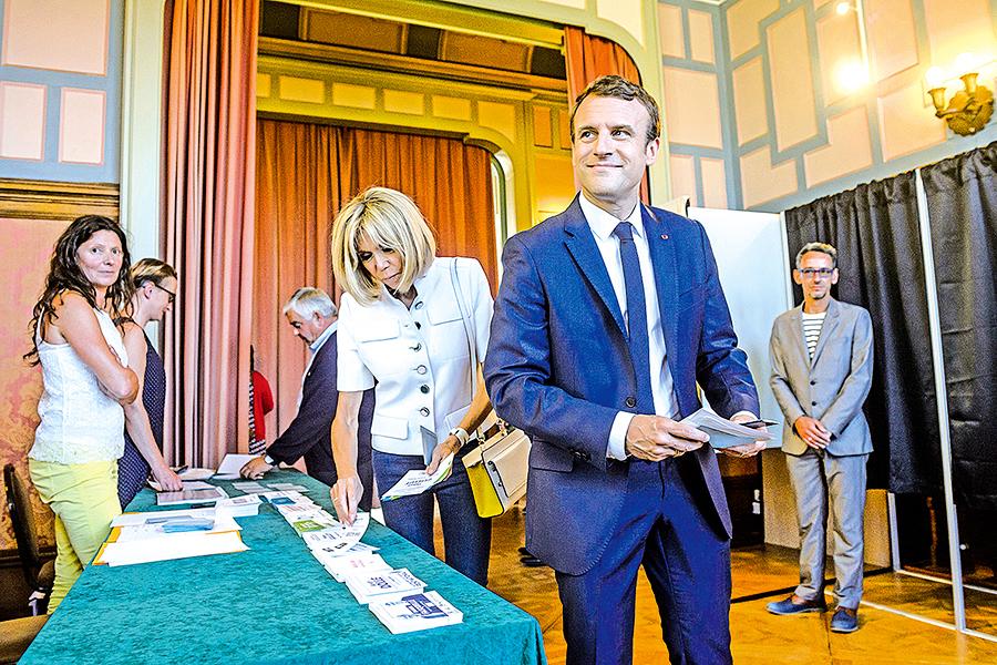 法國會選舉馬克龍陣營大勝