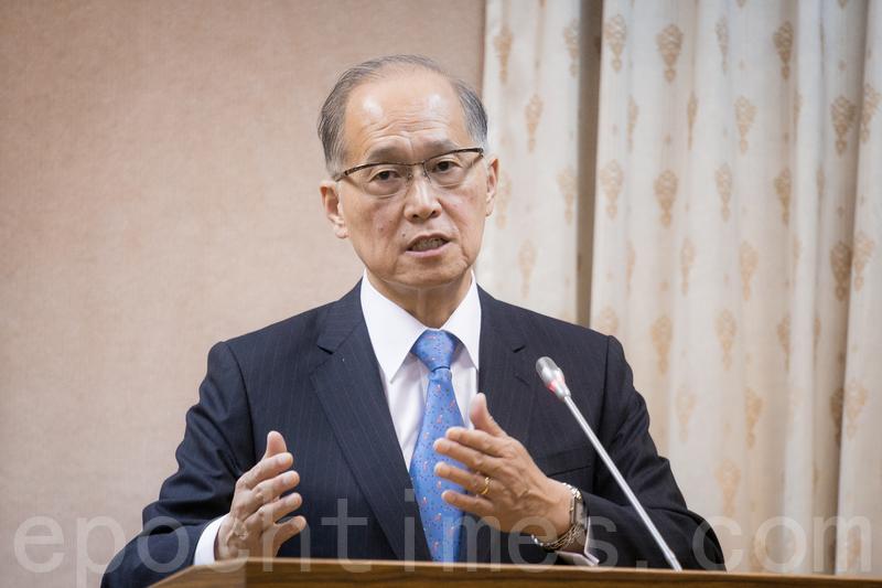 在巴拿馬宣佈與中華民國斷交後,中華民國外交部長李大維13日舉行記者會,宣佈終止與巴拿馬外交關係。(大紀元資料庫)