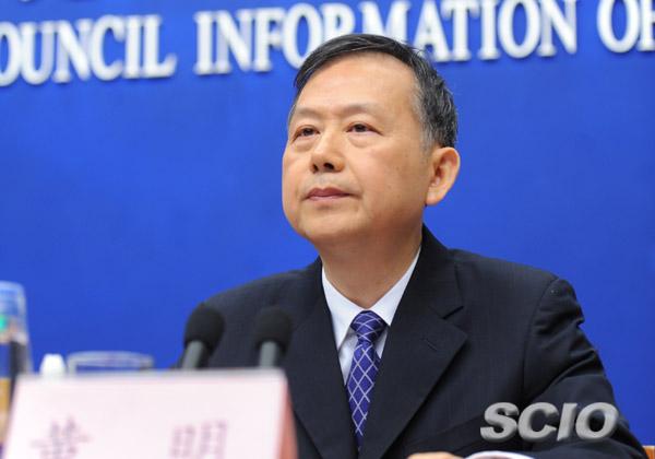 中共公安部副部長黃明。(網絡圖片)