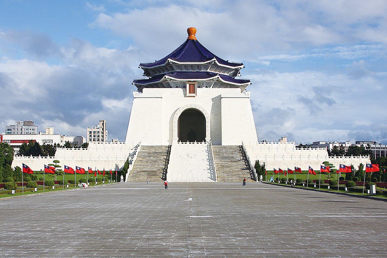 台北中正紀念堂。(維基百科)