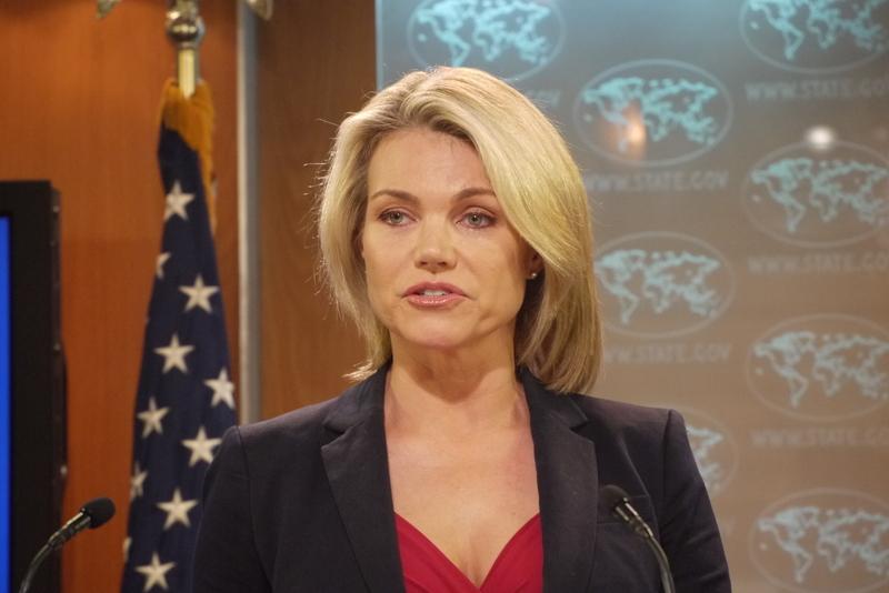 美國務院發言人諾爾特6月13日說,巴拿馬與台灣斷交,美國敦促所有相關方透過對話避免升高緊張、破壞穩定;美國也認為,兩岸透過對話造就近年來的和平與穩定。(中央社)