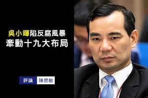 陳思敏:吳小暉陷反腐風暴 牽動十九大布局