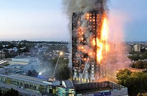 倫敦大廈大火12死逾70傷