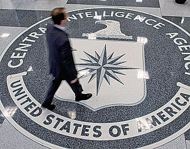 2010年至2012年間,中共至少處決了10多個美國中情局的間諜。圖為位於美國維珍尼亞州蘭利的美國中央情報局的徽標。(Getty Images)