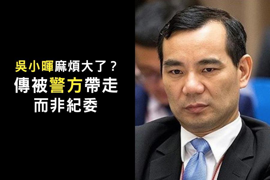 安邦集團董事長吳小暉。(網絡圖片)