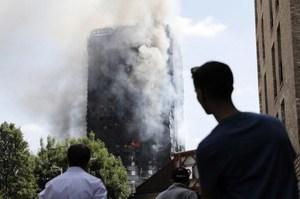 倫敦居民樓大火 建築材料存疑