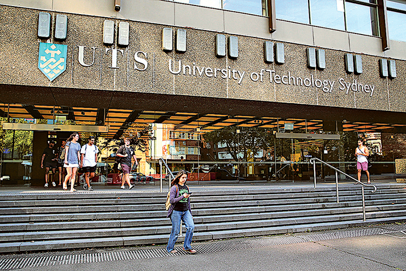 大陸富豪黃向墨曾任澳中關係研究所主席,該所隸屬悉尼科技大學(圖),立場親華。黃曾捐贈180萬美元。據指,資金來源是中共100億美元全球政宣一部份。(大紀元資料圖片)