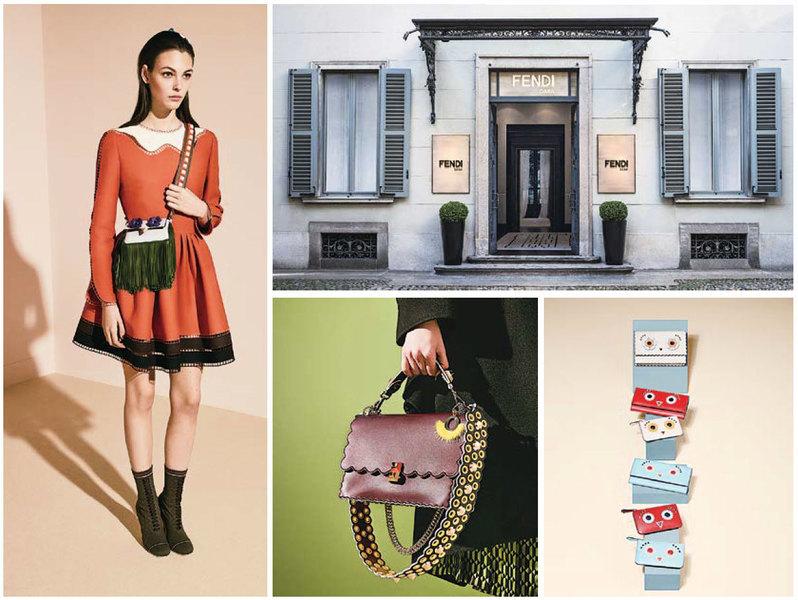 【時尚潮流】意大利時裝品牌 Fendi