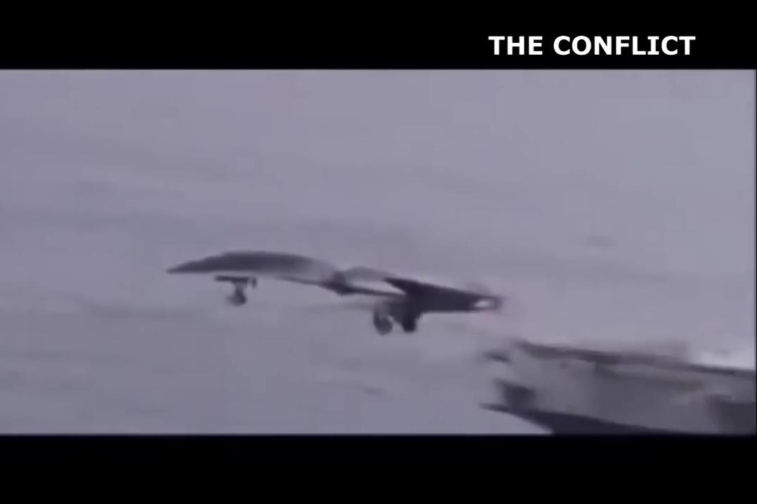 外界推測第六代戰機的設計模式(四)。(YouTube視像擷圖)