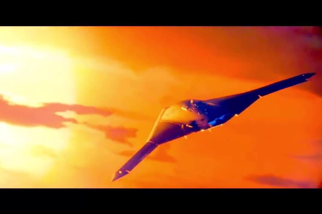 外界推測第六代戰機的設計模式(五)。(YouTube視像擷圖)