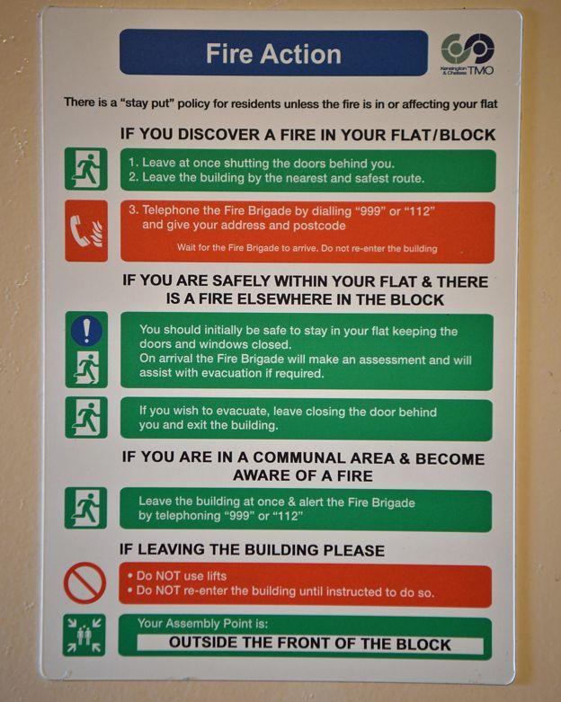 示意圖:遇火警,到底應怎麼辦?(網絡圖片)