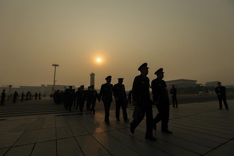 「十九大」前,中共的公安系統正在經歷新一輪大換血。(Lintao Zhang/Getty Images)