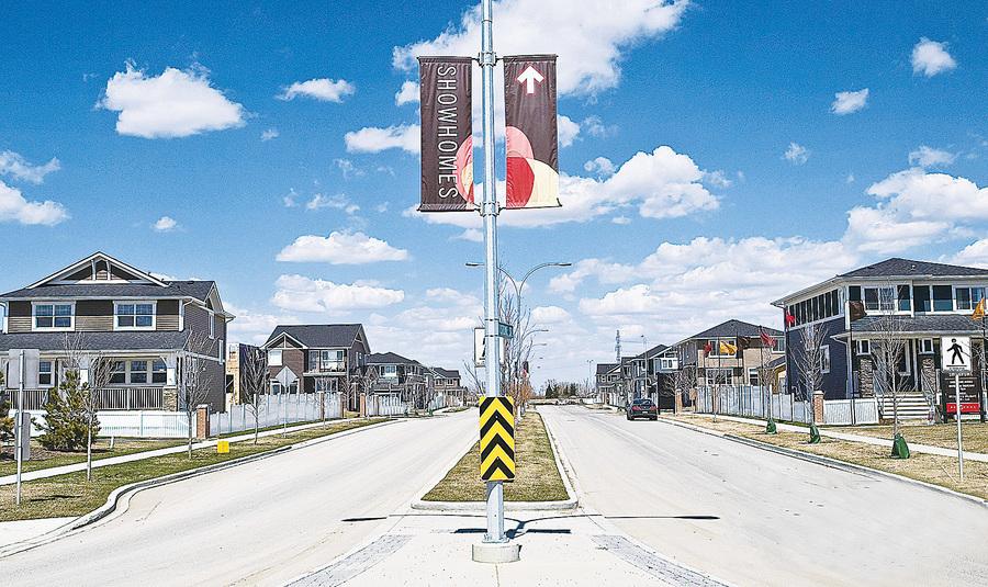 卡城精巧又實惠的半獨立屋 坐落在卡城東北大型新區Redstone 由Jayman BUILT精心打造