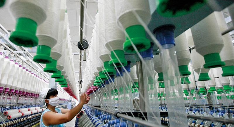 報告顯示,中國產業經濟面臨的最大挑戰仍然是內需不足,並不是融資問題,而是投資疲弱。(AFP)
