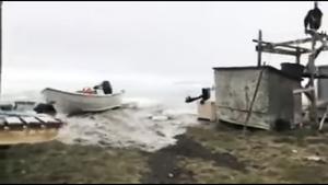 海嘯襲擊格陵蘭島 四人失蹤
