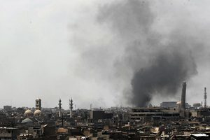 決戰開打 伊拉克進攻摩蘇爾IS最後據點