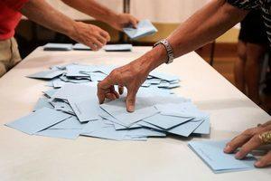 法國民議會第二輪選舉 馬克龍黨得票領先